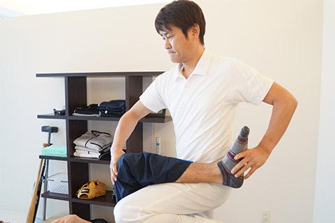 神経を刺激し、筋肉の状態を改善する手技療法